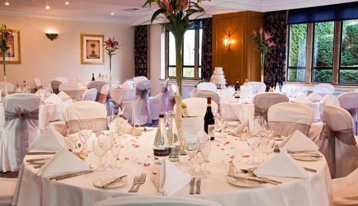 Billesley Manor Warwickshire Dinner Room