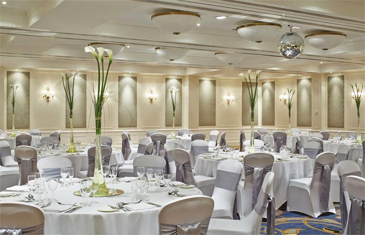 Marriott Highcliff Hotel Bournemouth Event Room