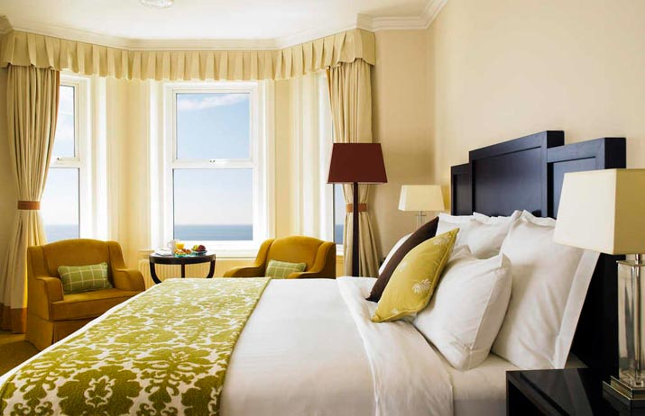 Marriott Highcliff Hotel Bournemouth Bedroom